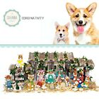 SAVANNASHOPS Dog Nativity Corgi Gifts Nativity Sets Dog Lover Gifts