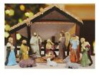 Holiday Time 13 Piece Christmas Nativity Set