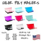 Color Poly Mailers Shipping Envelope Packaging Bags Self Sealing Mailing Bags