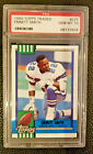 EMMITT SMITH DALLAS COWBOYS 1990 TOPPS TRADED PSA-10 GEM-MT ROOKIE RC CARD #27T