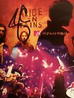 Alice In Chains Jerry Cantrell autographed signed COA JSA # V73674 Rare