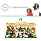 SAVANNASHOPS Mini Dog Nativity Nativity Sets Mixed Breeds