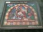 Jigsaw Puzzle 1000 Piece Stained Glass Holy Night Nativity Vermont Christmas Co
