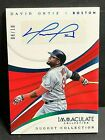 DAVID ORTIZ 2018 Panini Immaculate Dugout Collection AUTOGRAPH #d 10 Red Sox