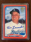 2017 Topps Archives Fan Favorites Autographs Auto Red #FFATL Tommy Lasorda 25