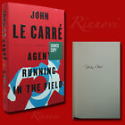 Agent Running In The Field SIGNED John Le Carre 2019HC1st 1st BRAND NEW
