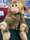 Ty Beanie Baby ~ BONSAI the Chimpanzee (9 Inch) w/ Tag Protector!