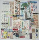 Huge Lot of 47 Sticker Packs Tags Laser Cut Scrapbook New in Package Sticko