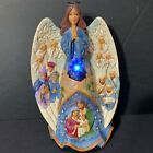 Jim Shore Heartwood Creek Masterpiece Angel Lighted Nativity Musical 6001481