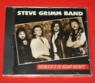 Rare Steve Grimm Band Heaven's in Your Heart Audio CD Brand New Sealed