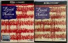 NEW THE BIRTH OF A NATION 4K ULTRA HD BLU RAY DIGITAL+ RARE OOP SLIPCOVER SLEEVE