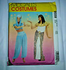 McCalls Sewing Pattern 9559 Jeanie Egyptian Cleopatra Misses Szs 8 10 BNUC