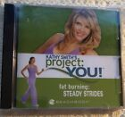 Kathy Smith's Project You Fat Burning Strides Walking Cd NEW