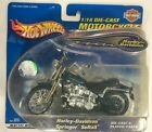 Hot Wheels 1:18  Harley Davidson Heritage Springer Softail Motorcycle 88423