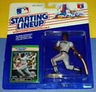 1989 CHET LEMON Detroit Tigers #34 Rookie * FREE s/h * sole Starting Lineup