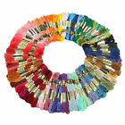 Lot 100 Multi Colors Cross Cotton Thread Stitch Floss Embroidery Sewing Skeins