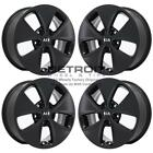 16 KIA SOUL SATIN BLACK WHEELS RIMS FACTORY OEM 74692 2014 2018 SET