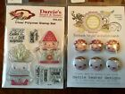 Darcies Clear stamps  Tin Pins GNOME ONE Easter