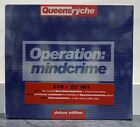 Queensryche Operation Mindcrime 3 Disc Deluxe Edition 2 CD + DVD New Sealed 2006
