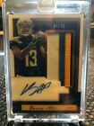 2018 Panini One Keenan Allen Patch Auto 49 Chargers 4 Color Patch Relic