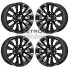 18 LEXUS GX460 GLOSS BLACK EXCHANGE WHEELS RIMS FACTORY OEM 74297 2013 2021