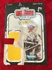 Vintage Star Wars Empire Strikes Back Han Solo Hoth Outfit Cardback