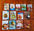 Lot of 13 Weight Watchers WW Points Plus Cook Books Shopping  Eat out Guide