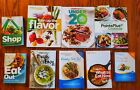Lot of 9 Weight Watchers Books Shop Dining out What to eat Cookbooks