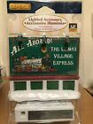 Lemax Christmas Village Collection Train Billboard 64497 Retired