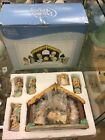 Precious Moments 10 Piece Nativity Figurine Set Enesco