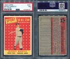 1958 TOPPS #487 MICKEY MANTLE ALL STAR PSA 7 (6791)