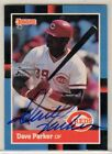 2002 Donruss Recollection Collection Buyback Auto 1988 Dave Parker 31 39