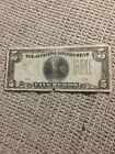 Nice Vintage WWII Japanese Government 5 Pesos War Time Currency Rare