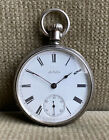 WALTHAM  - 18s 7j Pocket Watch  Sterling Silver 48 mm ca. 1879
