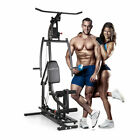 Home Gym Strength Training Weight Bench Workout Machine Fitness Equipment Black