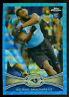 2012 Topps Chrome Football Blue Wave Refractor Checklist and Guide 15