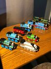 Thomas the Train - Diecast Metal And Wooden Train Lot Of 8 Trains!!