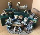 Boyds Bearstone Noah and Co. Ark Builders etc. ~ Lot of 5