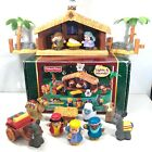 FISHER PRICE LITTLE PEOPLE Christmas Story J2404 Musical Lights Sound Nativity
