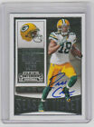 RANDALL COBB Packers SIGNED 2015 Contenders Football #69 Autograph ON CARD AUTO