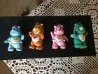 Vintage CARE BEARS Lot Of 3 Pose able Action Figures W Hair Kenner 1983 1984