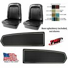 Upholstery Door Panel Set 1968 Mustang Coupe Seat Cover Tmi - Any Color