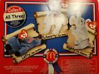 McDonald Beanie Babies American Trio Lefty,Righty,Libearty New in Pkg w/ errors