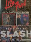"2 CDs: Slash (w/Myles Kennedy), Lita Ford ""Out For blood�, ""Dancin' On the Edge�"
