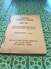 Antique Victorian Choice Variety Jokes No 34 Royal Publishing Company J Taggart