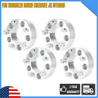 4 2 For Jeep 5x5 Wheel Spacers Adapters Wrangler Grand Cherokee JK Offroad