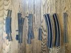 HO Vintage track 41 pc lot 18 curved straight crossing rerailer switches