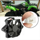Black Motorcycle ATV Oil Cooler Electric Engine Cooling Fan Engine Radiator