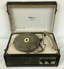 Vintage Decca Mono Seaford 8 Phonograph Record Player Turntable Repair or Parts