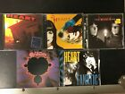 Heart 5 cds Rock The House Desire Walks On Road Home Jupiter's Darling Fanatic
